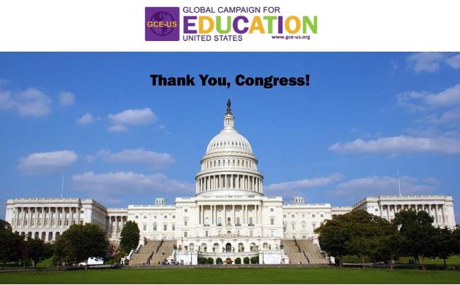 Thank you, Congress!