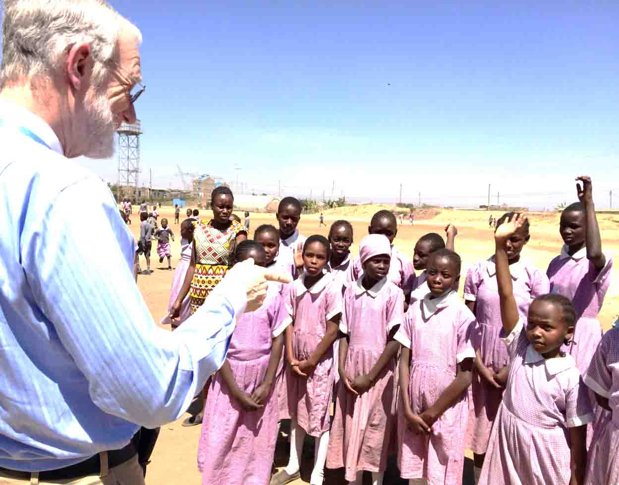 Older students at Kayole