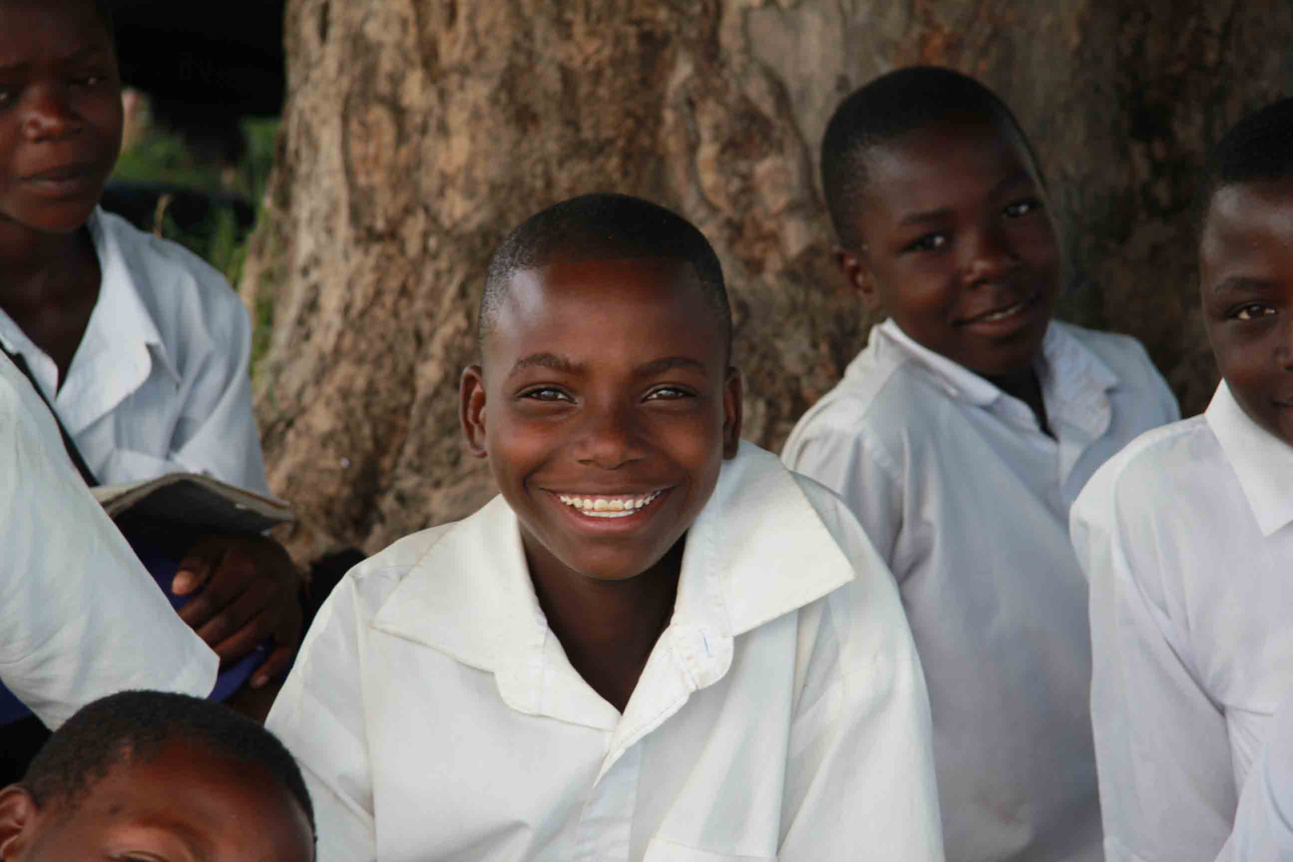 Photo Caption: Girls at Mwaniko Secondary School, Misungwi District, Tanzania.