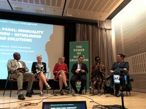 High-Level Panel: Inequality and Education- Interlinked Problems and Solutions