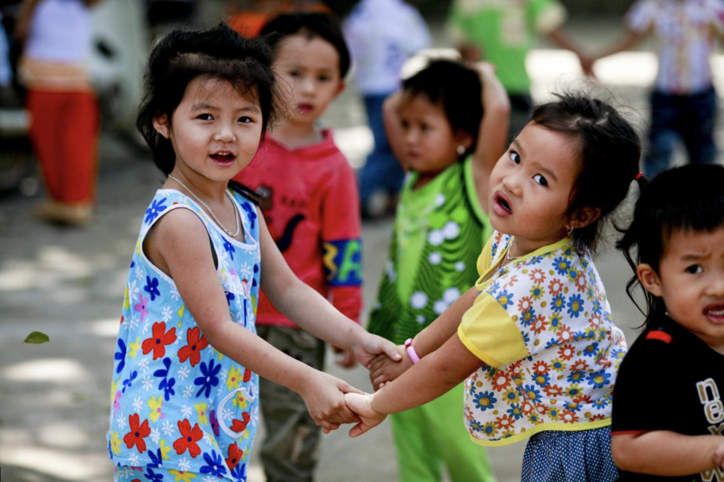 ©UNICEF Viet Nam\Doan Bao Chau | Vietnamese children playing as a part of UNICEF's Integrated Early Childhood Developmentlife-cycle approach.