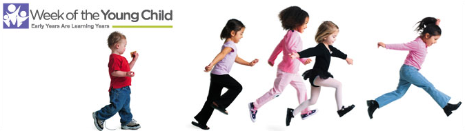 Week of the Young Child Promo Image-Early Years are Learning Years