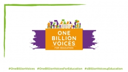 One Billion Voices for Education Campaign Launch
