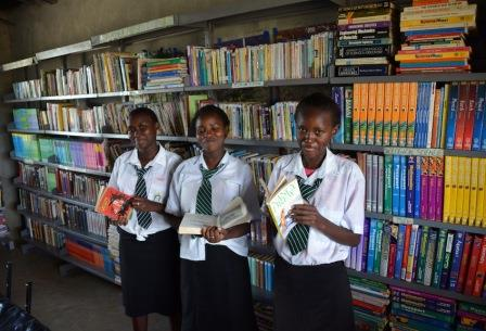 Mahiga Hope High Library