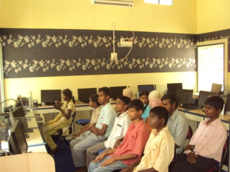 Classroom that Ann Foundation works with